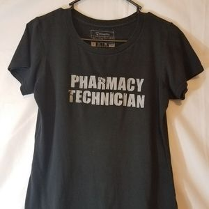 TEE SPRING PHARMACY TECHNICIAN T-SHIRT WOMEN SMALL